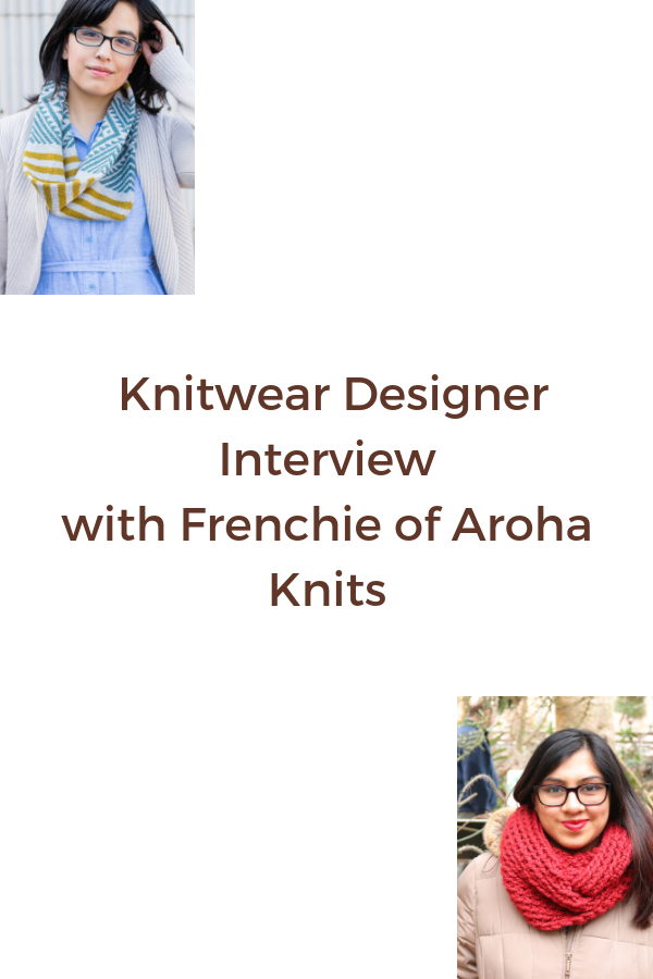 Frenchie is a great mentor and fellow POC knitwear designer of amazing accessory and women's patterns. Read more about her and find links to her patterns!