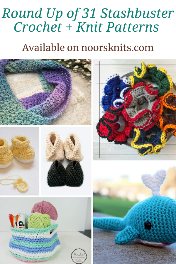 A crochet pattern roundup that features crochet designers that are offering one of their stashbuster crochet patterns as a free downloadable PDF.