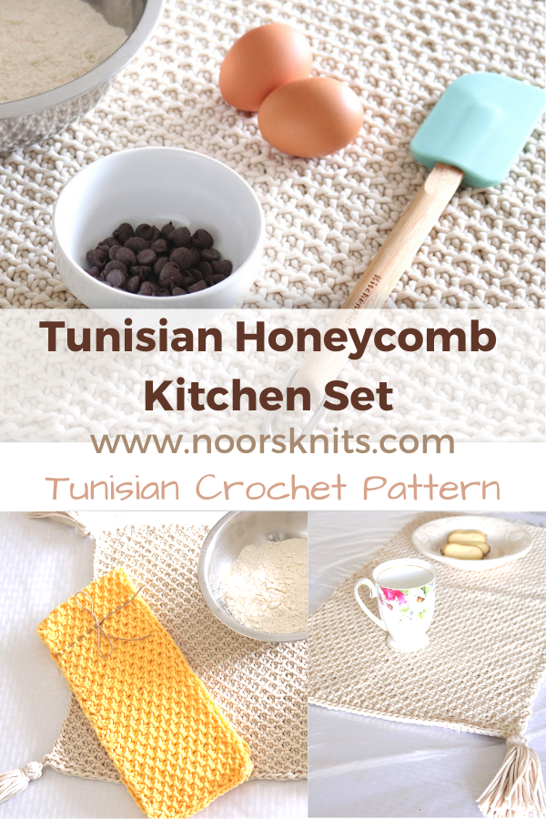 My first Tunisian crochet table runner pattern is LIVE! Looking for modern crochet table runner patterns for beginners? You are in the right place!