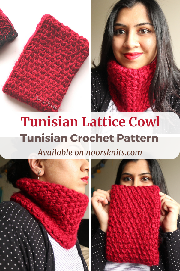 A crochet cowl pattern is perfect for gift-making and market prep! The textured Tunisian crochet child and adult cowl pattern is addictive!