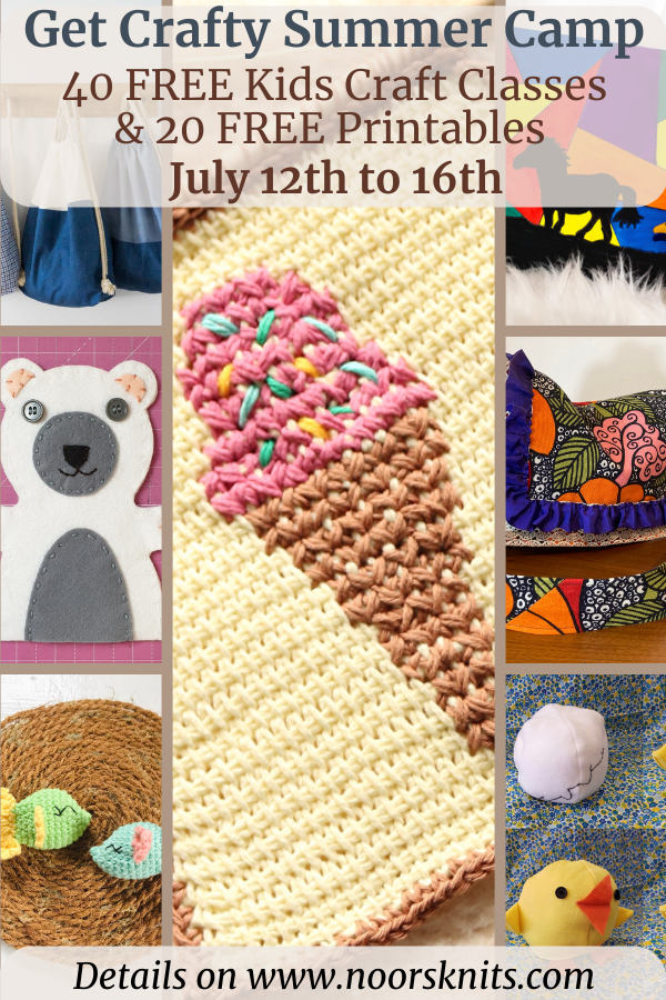 Pinterest crafts for kids are here! Are you a Pinterest mom looking for crafts for kids? Check out the FREE online Get Crafty Summer Camp!